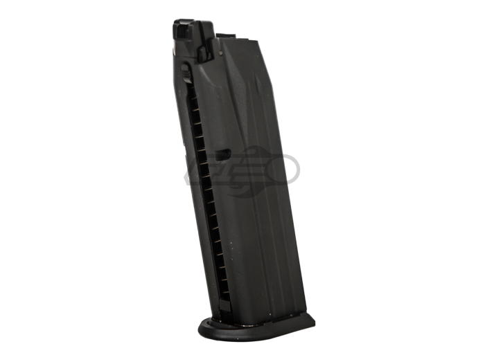 Elite Force Walther PPQ by VFC 22 rd  Gas Magazine (Black)