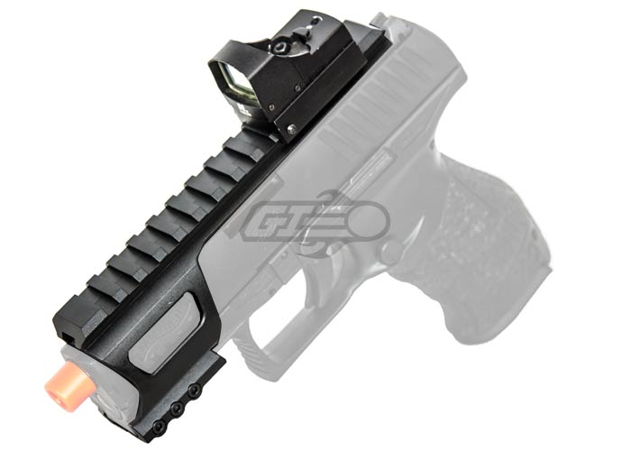 Walther PPQ GBB Full Metal Accessory Rail