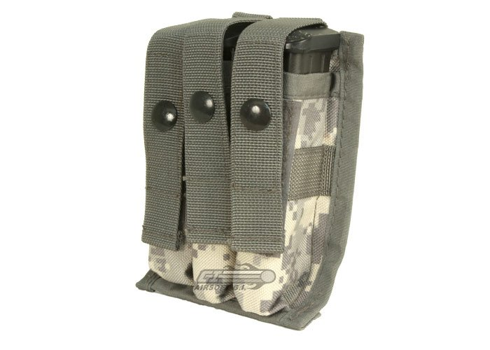 Tru-Spec MOLLE 9mm Triple Magazine Pouch (ACU)