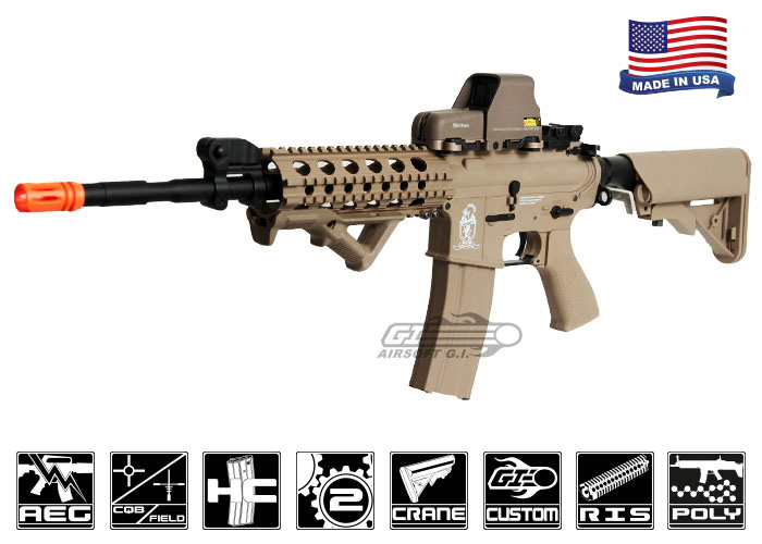 Airsoft Gi Desert G4 A3 Version 2 M4 Carbine Aeg Airsoft Rifle Black