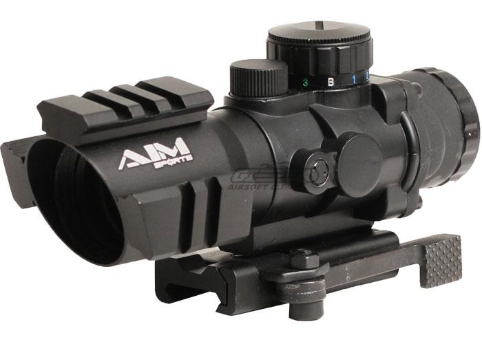 aim sports 4x32 tri-illuminated scope w/ tri-rail rr ... airsoft aug gearbox wiring diagram