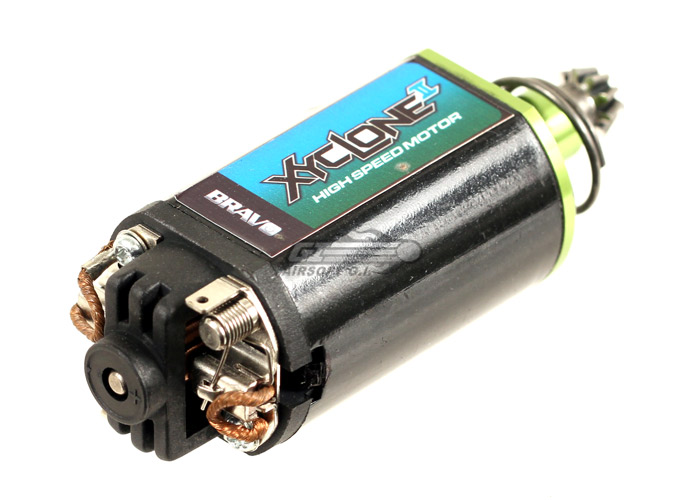 Bravo xyclone ii high speed motor medium type by for Long type motor airsoft