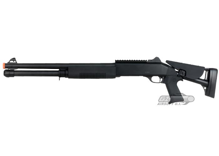 Gun Wishes Airsoft_B2_3Shot_LongShotgun_RetrctStk_D