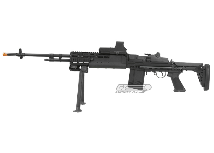 Classic Army Full Metal M14 EBR Match AEG Airsoft Gun by ... M14 Ebr Rifle
