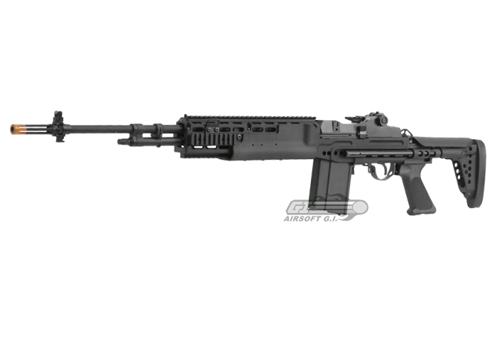 Classic Army Full Metal M14 EBR Match AEG Airsoft Gun by ... M14 Ebr Airsoft