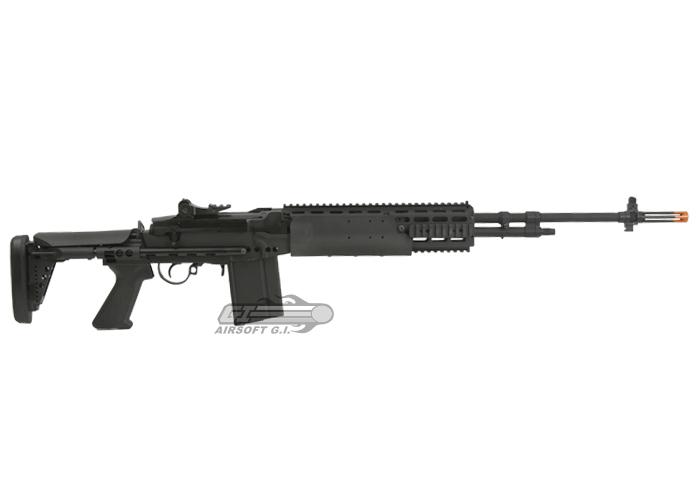 Classic Army Full Metal M14 EBR Match AEG Airsoft Gun by ... M14 Ebr Airsoft