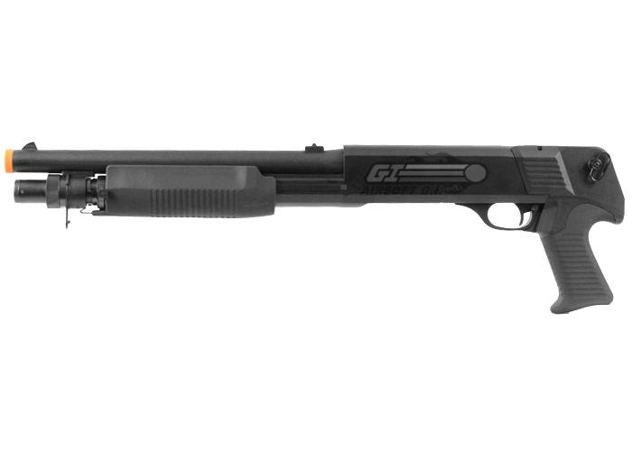 Fabuleux Eagle M3 Pistol Grip Multi-Shot Shotgun Spring Airsoft Gun ( Black ) OT09
