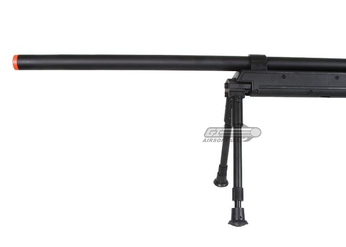 Echo 1 ASR Bolt Action Spring Sniper Airsoft Rifle (Black)