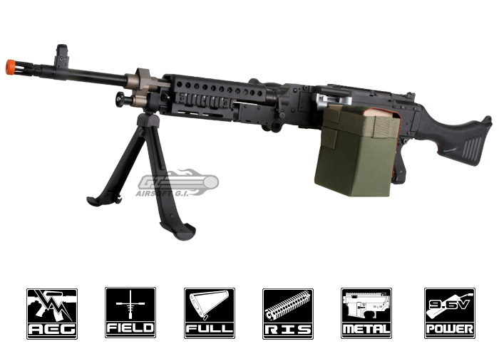 Echo 1 Full Metal M240 Bravo AEG Airsoft Gun