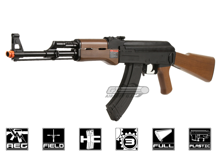 Combat Machine RK-47 Airsoft Gun ( Imitation Wood ) by: G&G - Airsoft