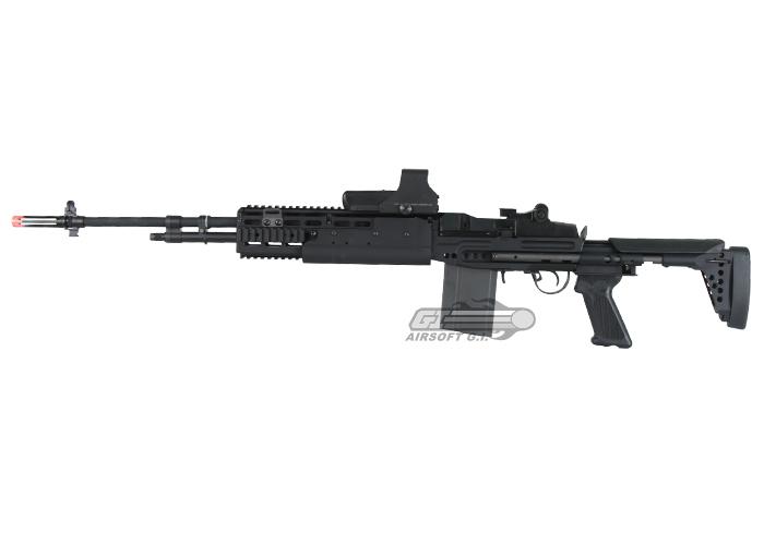 G&G M14 EBR / HBA Long Sniper Rifle AEG Airsoft Rifle ... M14 Ebr Rifle