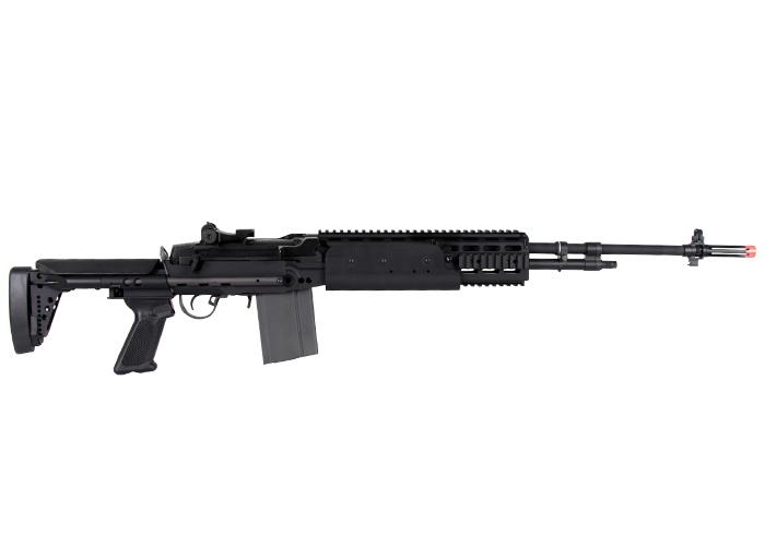 G&G M-14 EBR/HBA Long Sniper Rifle AEG Airsoft Gun – Blk M14 Ebr Rifle