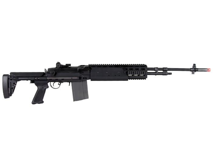 G&G M14 EBR / HBA Long Sniper Rifle AEG Airsoft Gun ( Black ) M14 Ebr Sniper Rifle