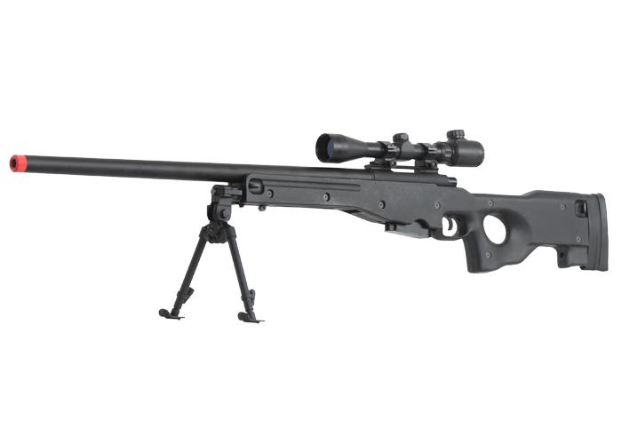 G&G G960 Gas Bolt Action Sniper Rifle Airsoft Gun ( Black )