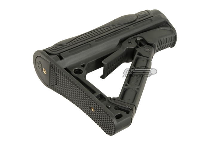 413011b1 G&G GOS-V1 Retractable Stock for G26 & M4 Series (Black). TM P226 Airsoft  Gun