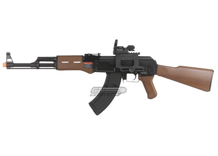 G&G RK 47 AK Blowback AEG Airsoft Rifle ( Imitation Wood )