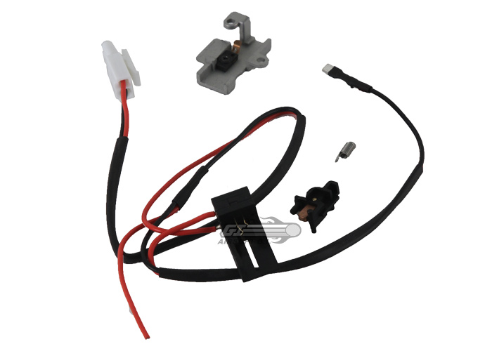 airsoft_GG_WireHarness__L85 standard aeg switch & wire assembly for l85 series vfc wiring harness with fuse at edmiracle.co