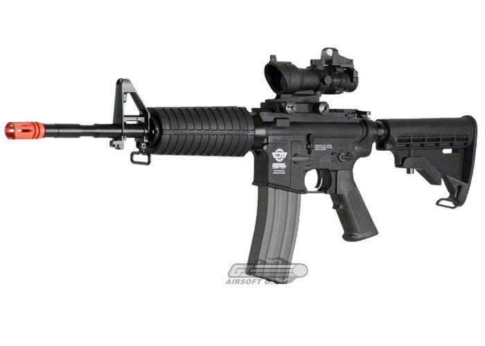 Combat Machine M16 Carbine AEG Airsoft Gun by: G&G ... M16 Airsoft