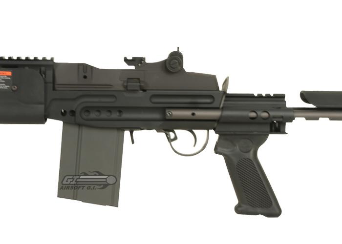 G&G M14 EBR / HBA Short Carbine AEG Airsoft Gun ( Black ) M14 Ebr Airsoft