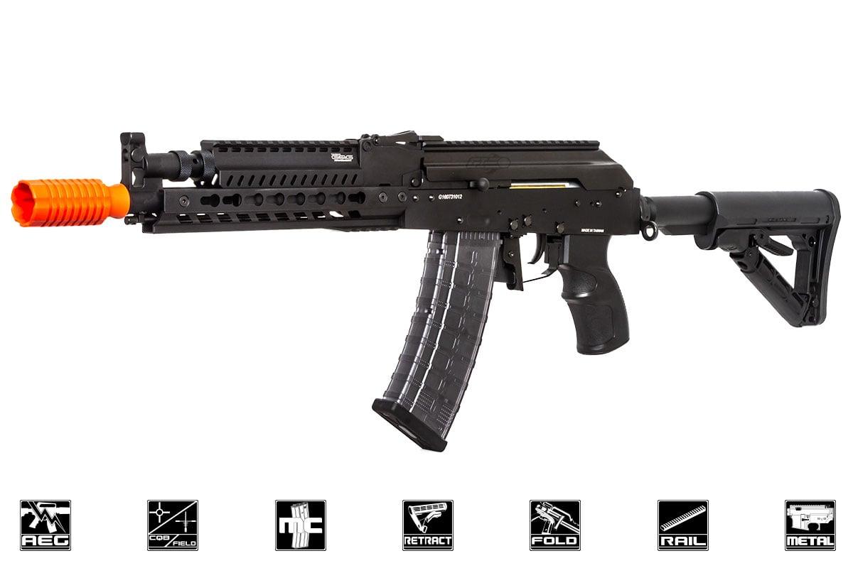 G&G RK74 E KeyMod AK Carbine AEG Airsoft Rifle ( Black )