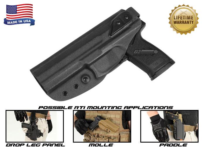 G-Code XST RTI H&K MK23 Left Hand Holster (Black)