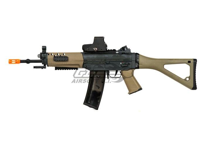ics sig 552 commando aeg airsoft gun lb de