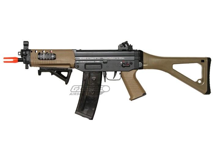 ics sig 552 commando aeg airsoft gun de by ics