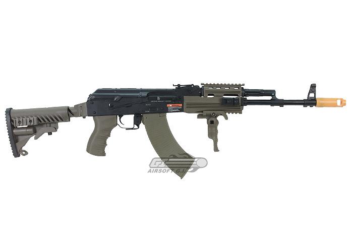 Javelin Airsoft Works Full Metal Tactical AK-74 Electric ...