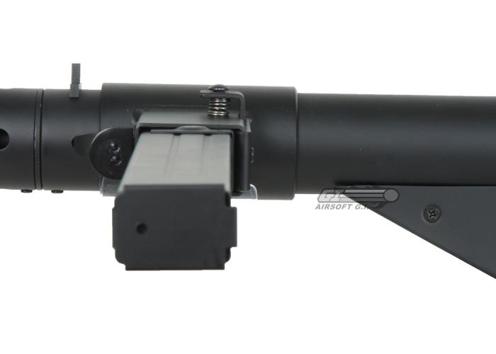 AGM MKII Sten AEG Airsoft SMG (Black)