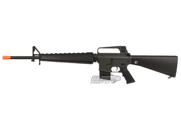 JG M16 A1 AEG Airsoft Gun by: JG - Airsoft GI - The ... M16 Airsoft Gun