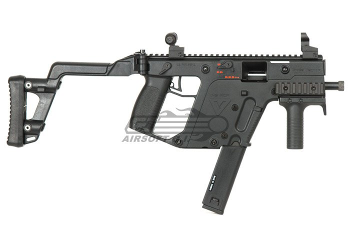 KRISS Vector Full Size Airsoft GBB SMG by KWA - Black ...