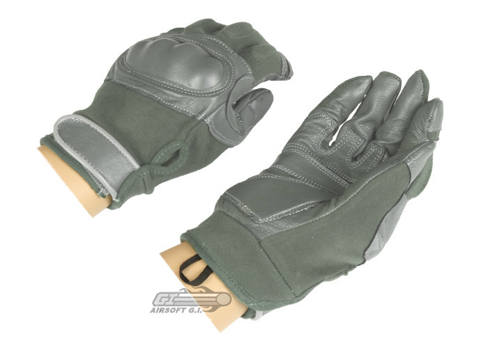 Lancer Tactical Hard Knuckle Gloves (Foliage/Medium)