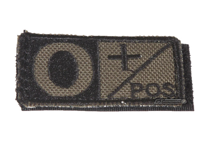 Condor Outdoor Velcro O Positive Blood Type Patch (OD)