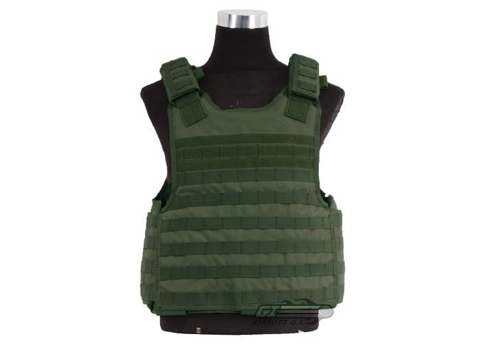 Condor Tactical Vest Enforcer Plate Carrier Military MOLLE Black