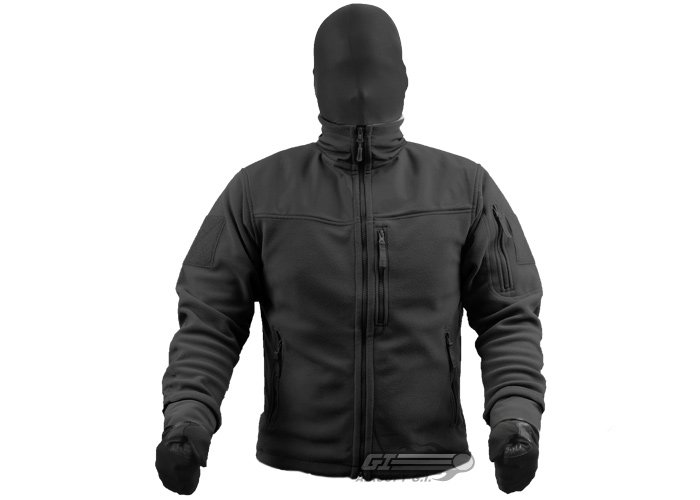 Outdoor Alpha Micro Fleece Jacket ( Black / XXXL )