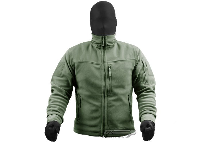Outdoor Alpha Micro Fleece Jacket ( OD / S )