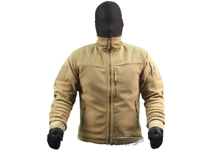 Outdoor Alpha Micro Fleece Jacket ( Tan / M )