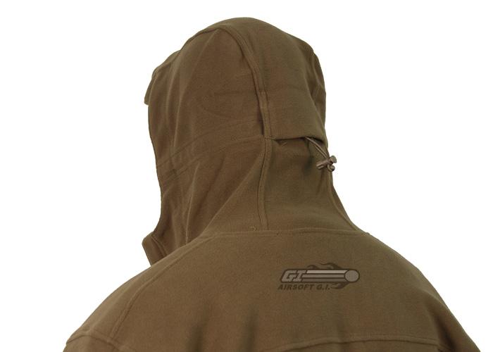 Outdoor Sierra Hooded Micro Fleece Jacket ( OD Green / L )