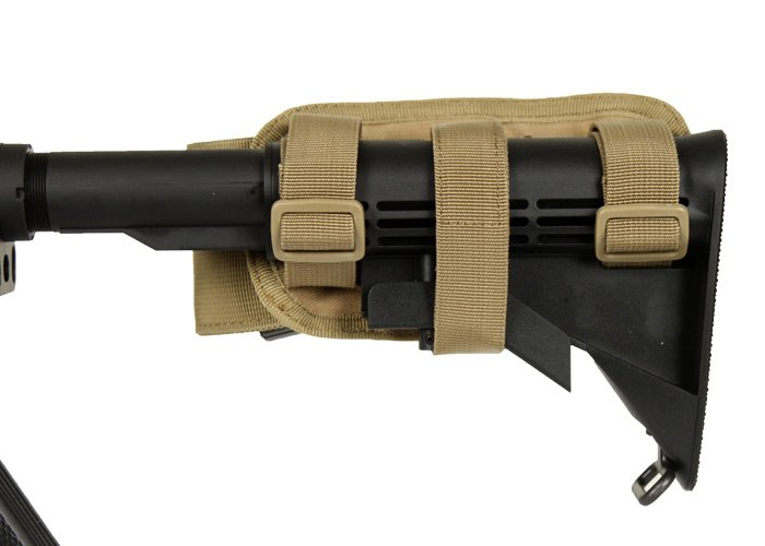 Ar 15 Stock Magazine Holder Outdoor Buttstock Magazine Pouch for M41 M41 Stock ACU 36