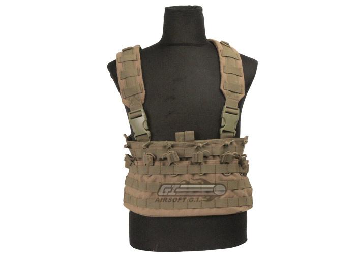Condor Rapid Assault Chest Rig Tan MCR6-003