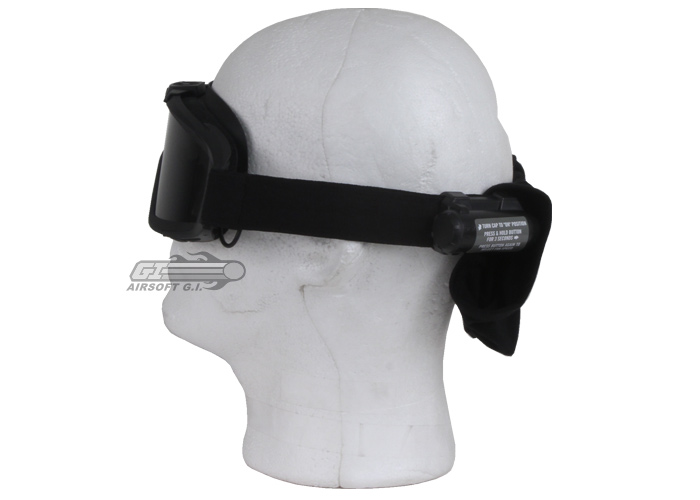 Revision Desert Locust Fan Goggle Essential Kit Asian Fit (Black)