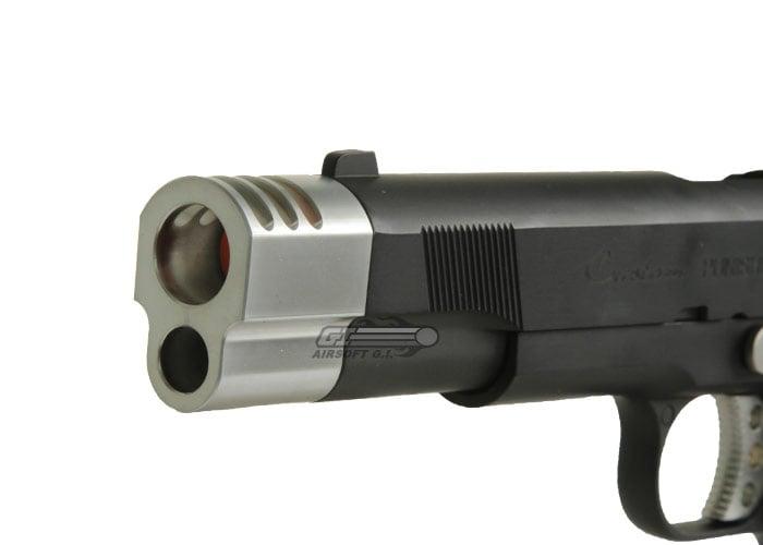 Socom Gear Punisher M1911 GBB Airsoft Pistol Compensator & Case Package  (Black)