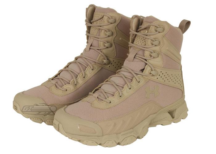 Under Armour Tactical Valsetz Boots Desert Sz 9 12