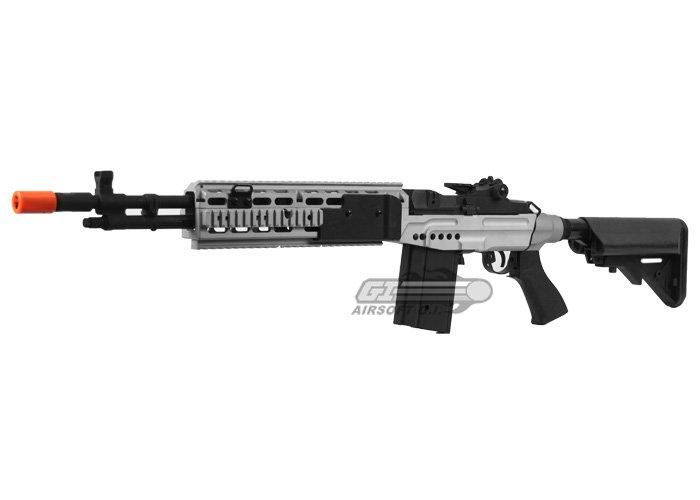 CYMA CM032EBR M14 EBR Sniper Rifle AEG Airsoft Gun ... M14 Ebr Airsoft