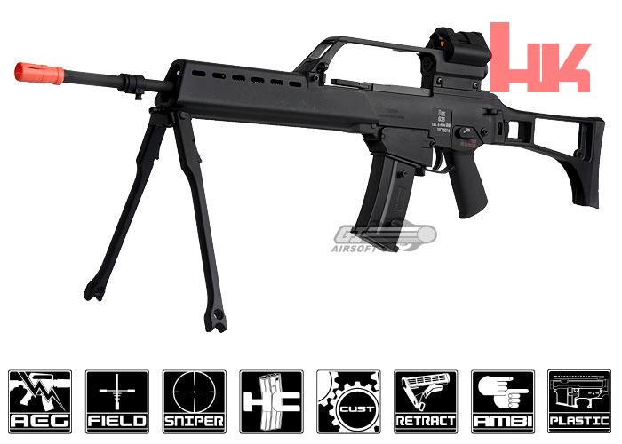 Elite Force H&K G36 Blow Back AEG Airsoft Rifle (Black)