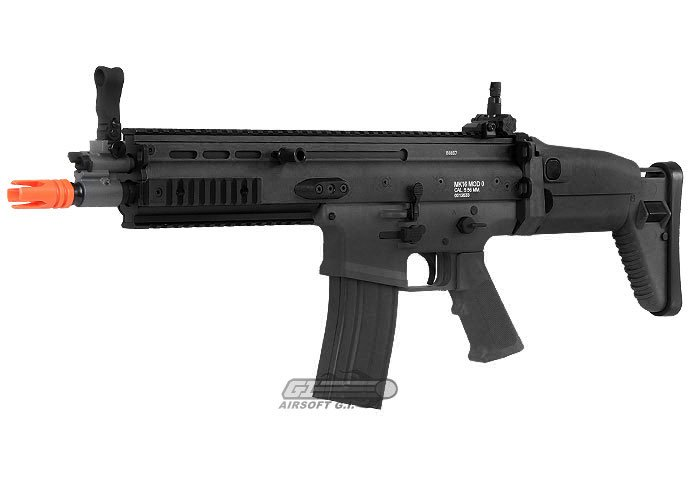airsoft_VFC_CQC_mk16_blk_c fn herstal scar l mk16 cqc carbine aeg airsoft gun ( black ) SCAR- L Assault Rifle at soozxer.org