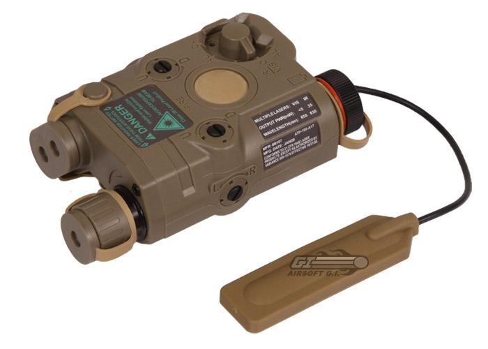 Vfc Peq15 Illuminator Laser Amp Led Light Combo Dark Earth