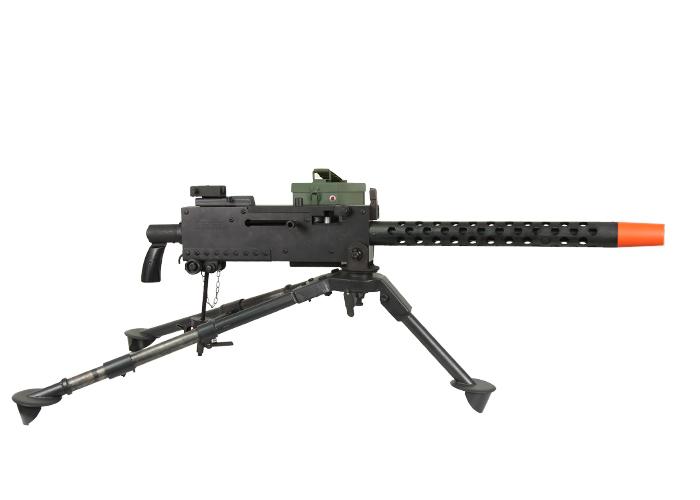 how to build a airsoft machine gun