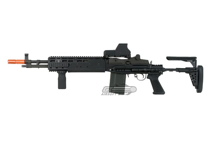 WE Full Metal M14 EBR GBB Rifle Airsoft Gun ( Black ) M14 Ebr Rifle