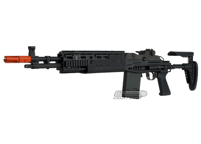 WE Full Metal M14 EBR GBB Rifle Airsoft Gun ( Black ) M14 Ebr Airsoft
